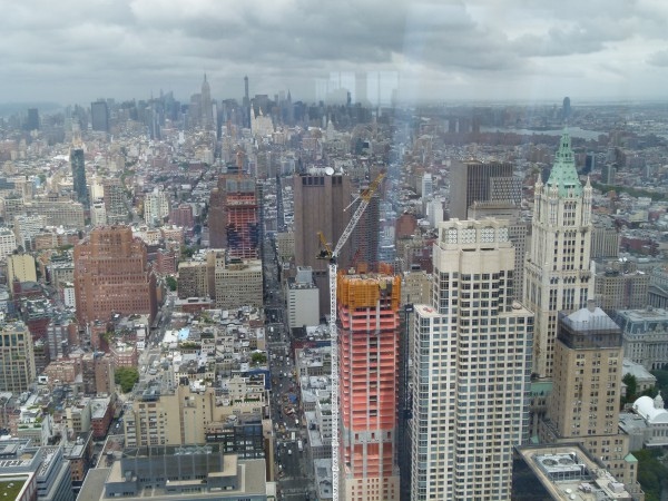 Der Ausblick von 7 World Trade Center Richtung Norden.