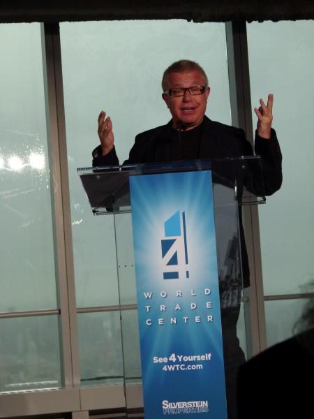 Star-Architekt Daniel Libeskind: Er entwarf das Konzept für das neue World Trade Center. Er kam mit seinen Eltern als Kind nach New York, hatte keinerlei Geld: nur große Träume.