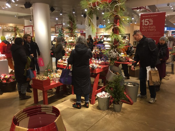 Weihnachtsshopping in NYC
