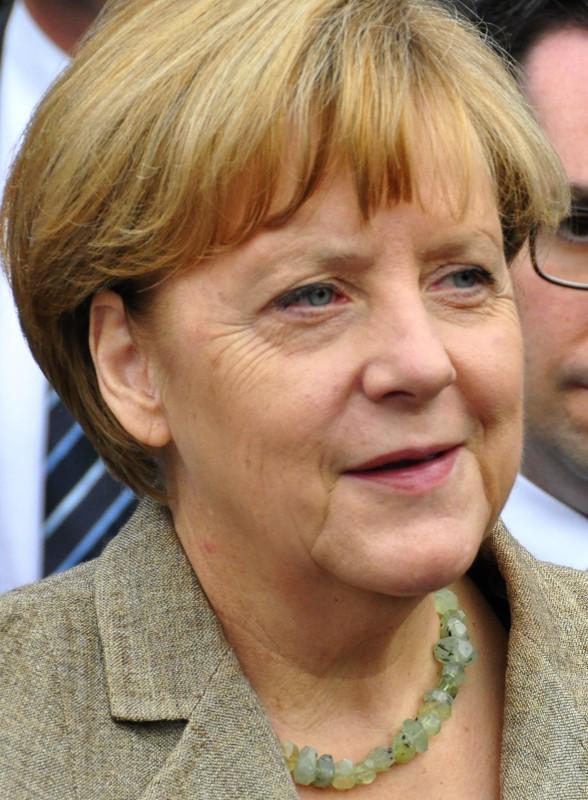Bundeskanzlerin Angela Merkel bei einem Auftritt 2014. Foto: Wikipedia