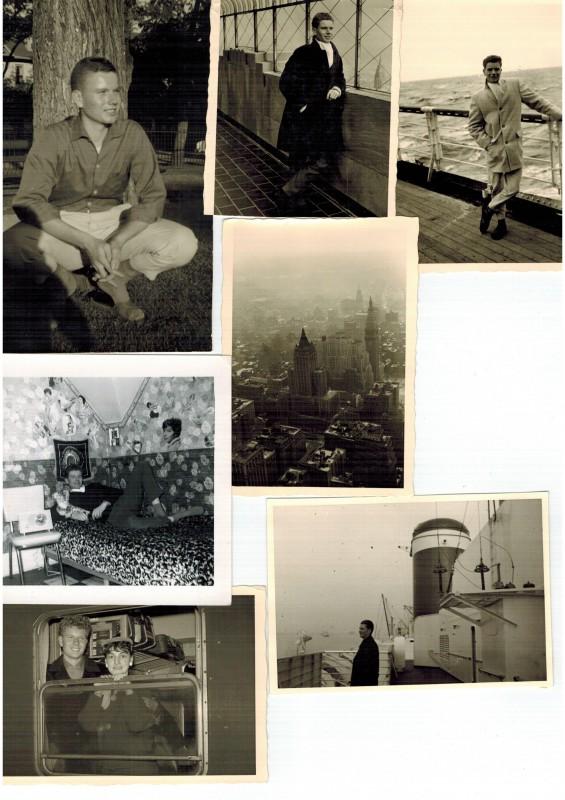 Mein Vater Anfang der 1960er Jahre in New York