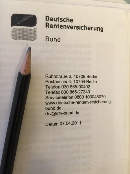 Der Rentenauszug: Die verschickte persönliche  Information hilft dem Arbeitnehmer. So kann jeder sehen, mit was er/sie im Alter rechnen kann.
