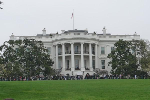 Das Weiße Haus.