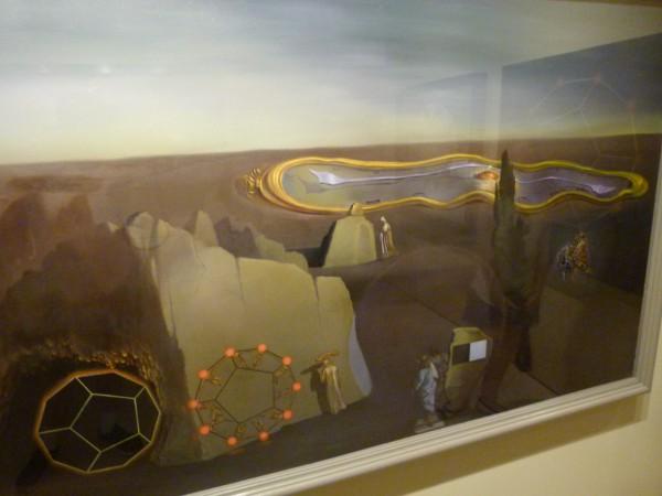 """Salvador Dali. 1979. """"In Search of the Fourth Dimension."""""""