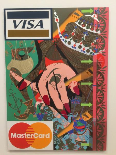 """Das Kunstwerk fotografierte ich im """"Whitney Museum of American Art"""" im Meatpacking Distrikt in New York."""