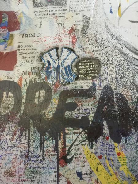 Grafiti in New York. Menschen haben Träume. Dazu kann der Frühruhestand gehören. Wer schafft, verdient meinen Respekt.