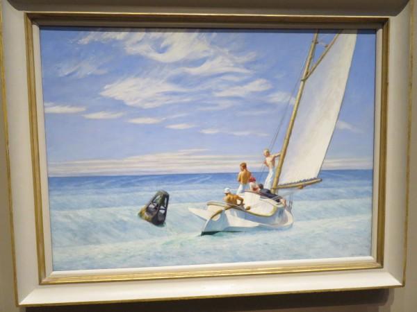 Das Bild ist von Maler Edward Hopper (1882-1967). Das Kunstwerk entstand 1939.