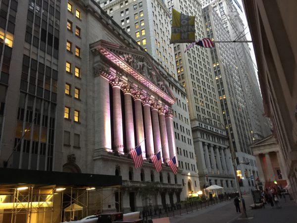 Die Börse an der Wall Street: Wer Geduld hat, gewinnt. Wer nervös oder gierig ist, fällt auf die Nase.