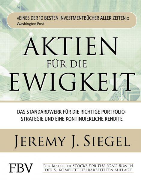 """Ich verlose diesen Bestseller: """"Aktien für die Ewigkeit"""" von Professor Jeremy Siegel."""