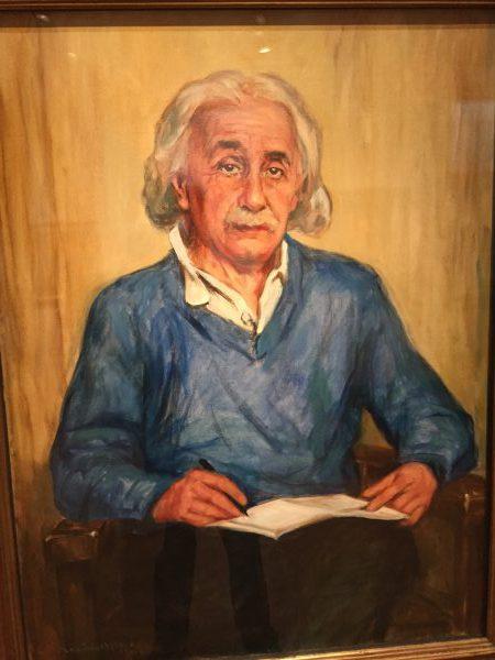 Genie Albert Einstein hält Menschen für Geistesgestört, die immer das gleiche machen und trotzdem hoffen, dass sich etwas an ihrem Leben ändert.